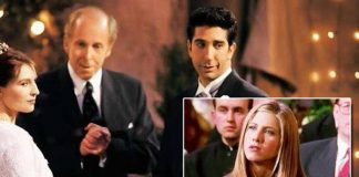 BTS Of David Schwimmer AKA Ross' 'I Take Thee Rachel' Scene