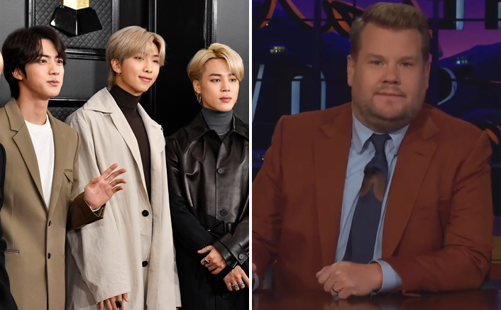 """BTS Returns To James Corden's Show To Perform On """"Life Goes On"""""""
