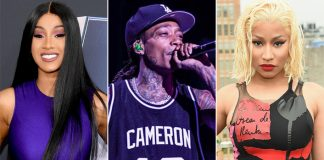 Cardi B Blasts Wiz Khalifa For Pitting Her Against Nicki Minaj Over Shady Grammy Tweet