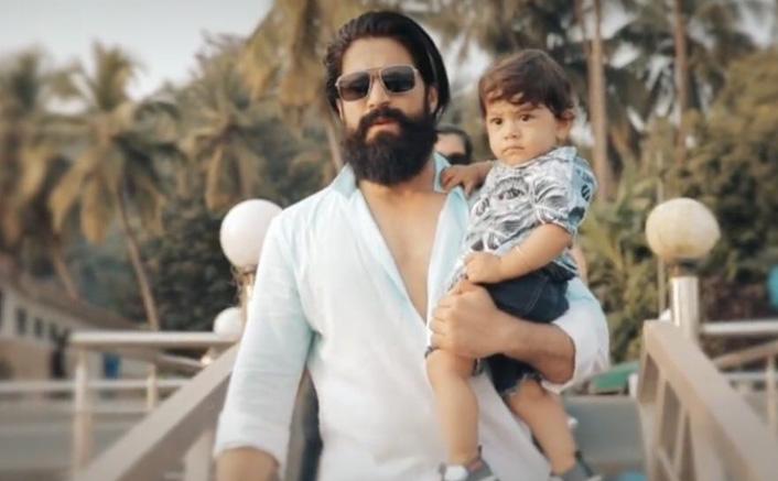 KGF Star Yash Celebrates Son Yatharv's First Birthday