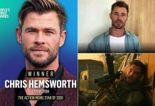 Chris Hemsworth Wins People's Choice Awards 2020 For Extraction