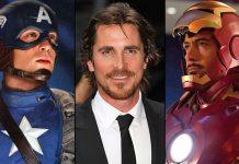 Christian Bale On Saving/Killing Iron Man & Captain America