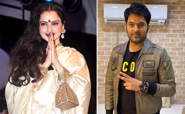 Comedy Nights With Kapil: Rekha Took Kapil Sharmva's Class For Not Watching Her Films(Pic credit: Instagram/kapilsharma)