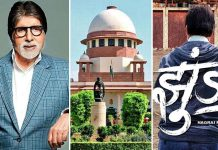 Copyright row: SC refuses to lift stay on release of Big B-starrer Jhund