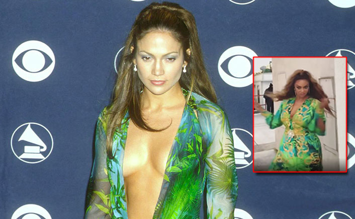 Dancing With The Stars: Tyra Banks Wears A Recreated Version Of Jennifer Lopez's Iconic Versace 2000 Grammy Award Look & Netizens Aren't Impressed