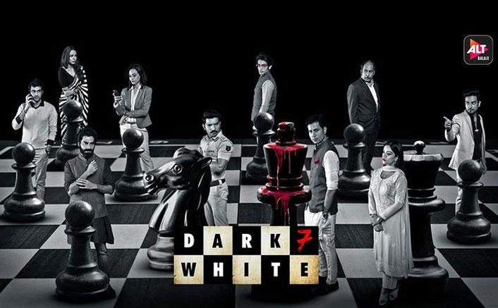 Dark 7 White Poster