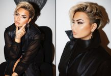 Demi Lovato debuts edgy new pixie haircut