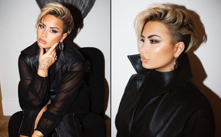 Demi Lovato Debuts Edgy New Pixie Haircut