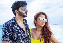 Dheeraj Dhoopar, Vinny Arora get romantic on Wedding Anniversary