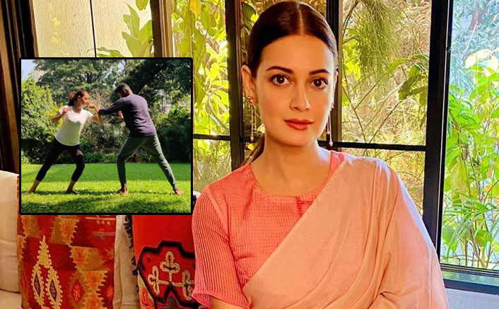 Dia Mirza Is Learning Kalaripayattu