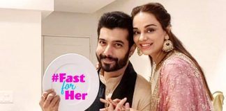 Did You Know? Sharad Malhotra Helps Wife Ripci Bhatia Do The Dishes Post Shoot