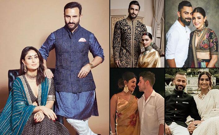 Diwali 2020: Fashion Looks From Anushka Sharma, Virat Kohli, Deepika Padukone, Ranveer Singh