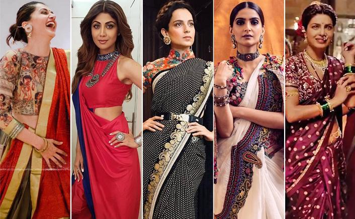 Diwali 2020: Take Some Saree Draping Tips From Bollywood Actresses Like Kangana Ranaut, Priyanka Chopra, Sonam Kapoor & Others