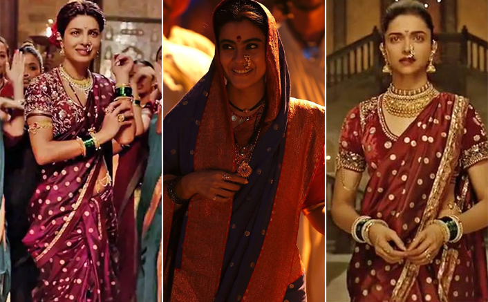 Diwali 2020: Bollywood Actresses Kajol, Priyanka Chopra & Deepika Padukone Look Gorgeous In This Maharashtrian Saree Look