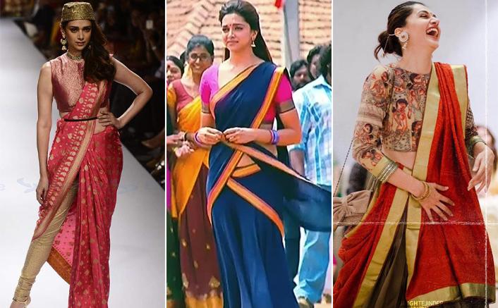 Diwali 2020: Aditi Rao Hydari, Deepika Padukone & Taapsee Pannu Nail The Half-Saree Look Like Pros!