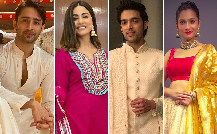 Diwali 2020: Shaheer Sheikh To Hina Khan, Best Traditional Looks Of TV Celebs