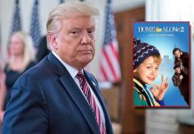 Donald Trump Bully Makers To Take Him In Home Alone 2