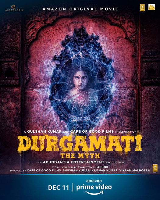 Bhumi Pednekar's Durgamati: The Myth Poster