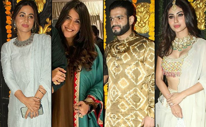 Ekta Kapoor Diwali Party 2020: From Hina Khan To Mouni Roy - All The Latest Pics You Need To See