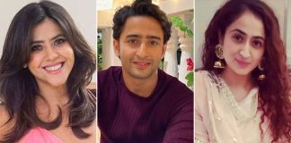 Ekta Kapoor Wishes Shaheer Sheikh In A Quirky Way, Calls His Wife 'Begum' Ruchikaa Kapoor Sheikh!