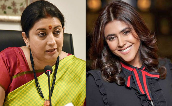 Ekta Kapoor's Sweet & Encouraging Message For BFF Smriti Irani As She Tests COVID-19 Positive