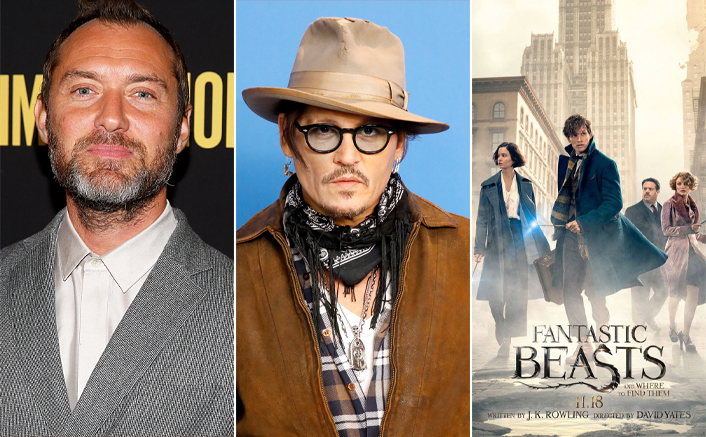 Jude Law finds Johnny Depp's exit from Fantastic Beasts 3 'unusual'