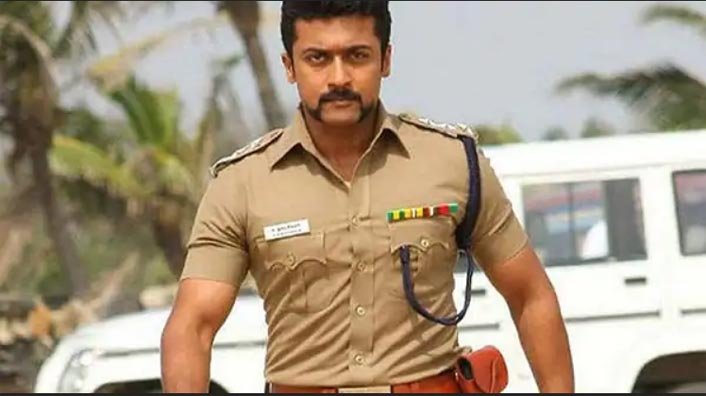 Suriya Totally Nails The Look Of A Cop