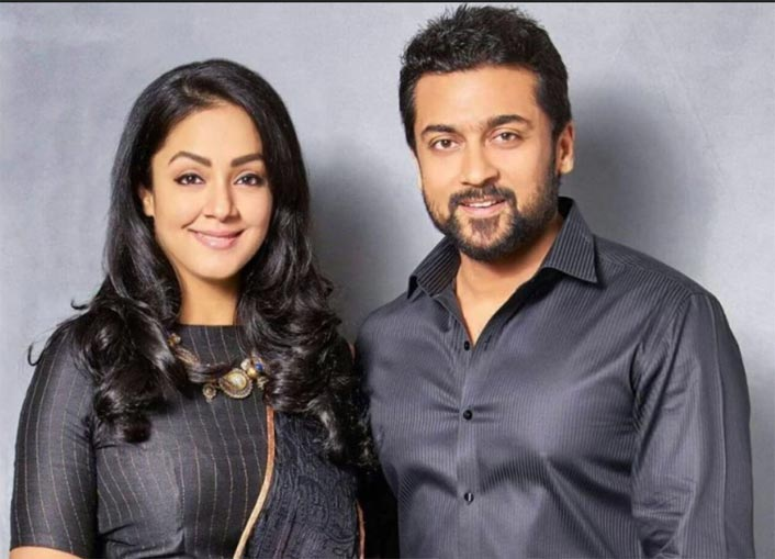 A Beautiful Picture Of Suriya & Jyothika