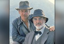 Harrison Ford remembers his on-screen father Sean Connery