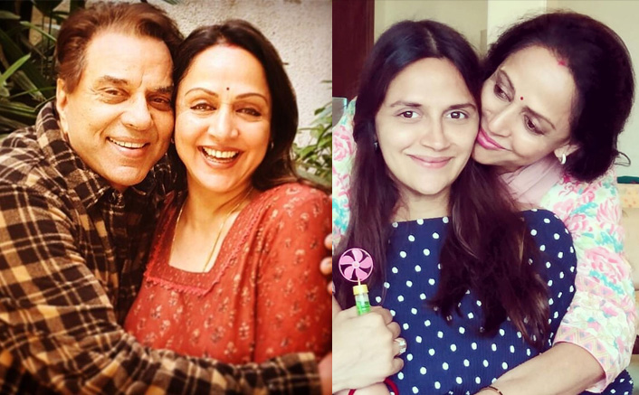 Hema Malini & Dharmendra Share Their Happiness On Daughter Ahana Deol Giving Birth To Twins(Pic credit: Instagram/a_tribe)
