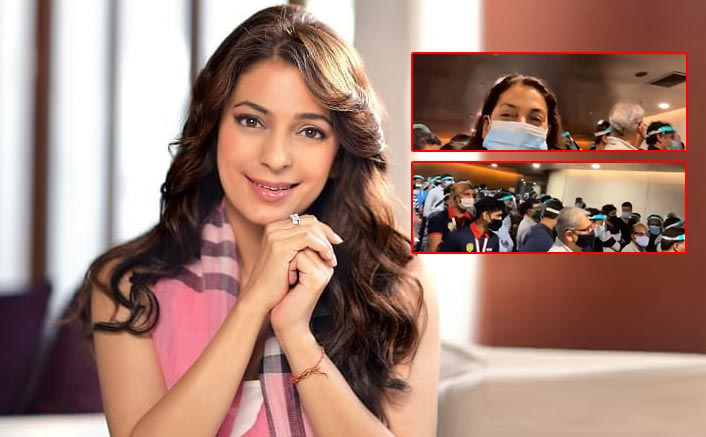 Juhi Chawla Takes To Twitter & Posts About Getting Stranded At The Airport For Two Hours