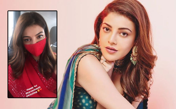 Kajal Aggarwal Shares Glimpses Of Her First Karwa Chauth