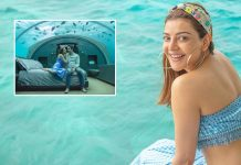 Kajal Aggarwal's underwater honeymoon capers