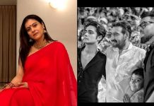 Kajol proud of men in her life