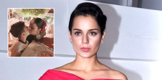 Kangana Ranaut posts adorable picture kissing nephew