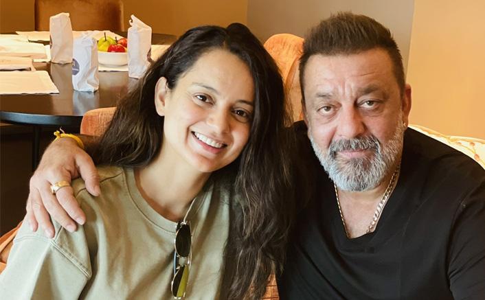 Kangana Ranaut Shares A Photo From Her Recent Meet With Sanjay Dutt (Pic credit: Twitter/Kangana Ranaut)