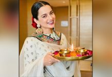 Kangana Ranaut welcomes 'devi' home on Diwali