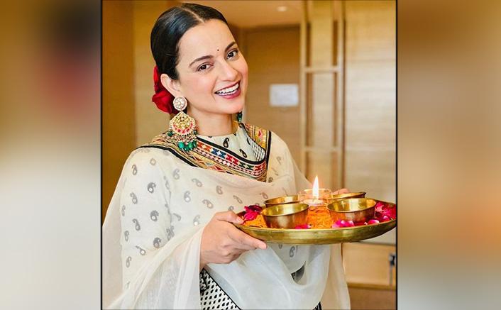 Kangana Ranaut Shares Diwali Pics On Social Media