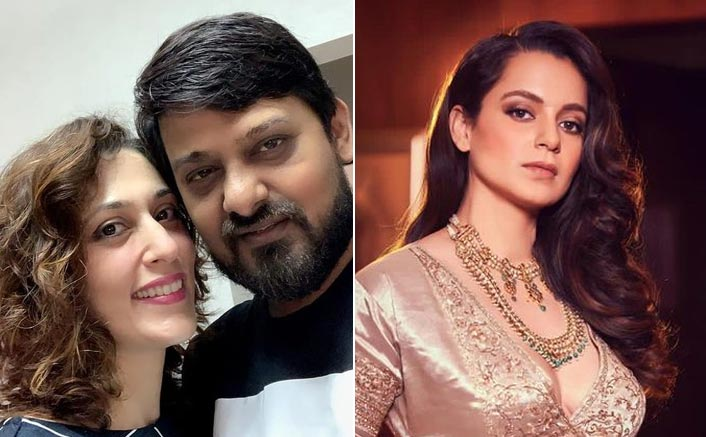 Kangana Backs Wajid Khan's Wife Kamalrukh In Her Battle Against Her In-Laws