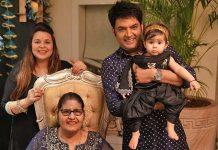 Kapil Sharma & Ginni Chatrath Celebrate Daughter Anayra's First Diwali
