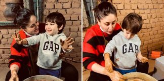 Kareena and Taimur try pottery in Dharamkot