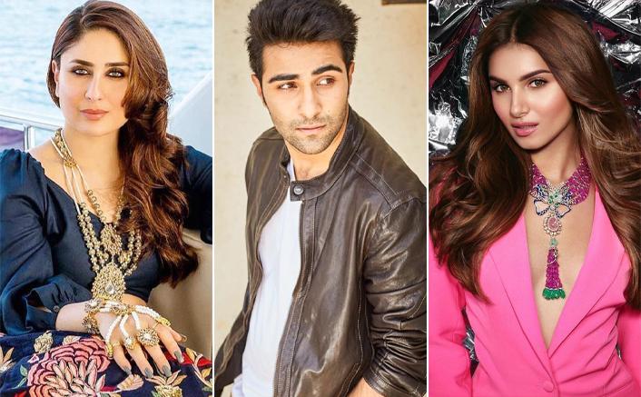 Kareena Kapoor Khan Mesmerises Us With Her Karwa Chauth Look; Tara Sutaria & Aadar Jain Join The Celebrations Too!