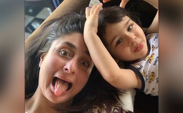 Kareena shares picture of son Taimur gorging on French fries