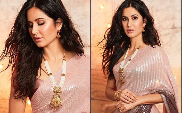 Katrina Kaif's Sequins Saree Would Definitely Make You Stand Out Of The Crowd This Diwali