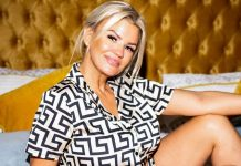 Kerry Katona is scared she has arthritis