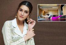 Kriti Sanon shares a fun way to measure length of a room