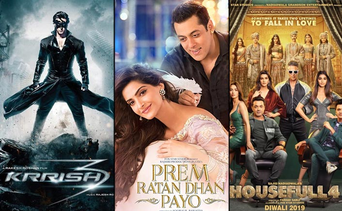 Krrish 3 To Housefull 4, These Bollywood Films Scored Best During Best