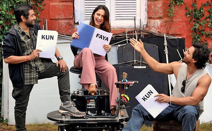Kun Faya Kun: A Candid Moment from the set !