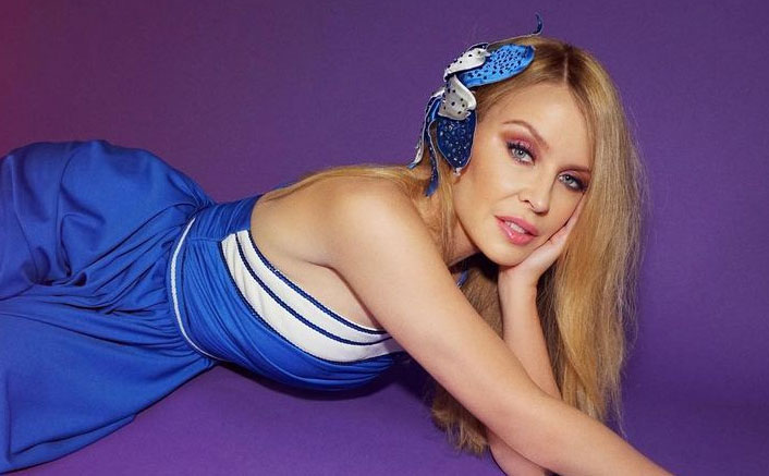 Kylie Minogue gushes about her supportive beau