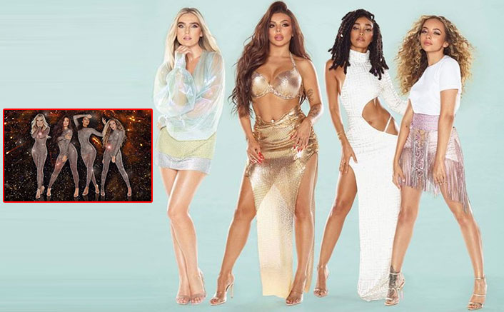 Little Mix Singers Look Spectacular In Matching Bodysuits Celebrating The Release Of Confetti